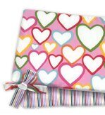 БОРТИКИ COLOR HEARTS 120*60 см.